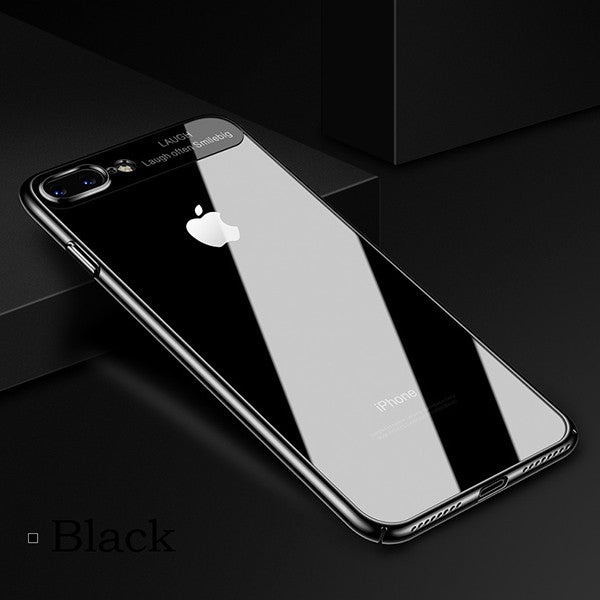 Luxury Slim Clear Phone Case For iPhone
