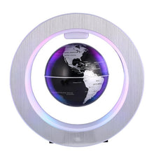 LED Floating Tellurion Round Magnetic Levitation Globe World Map with Led Light  Home Office Decoration