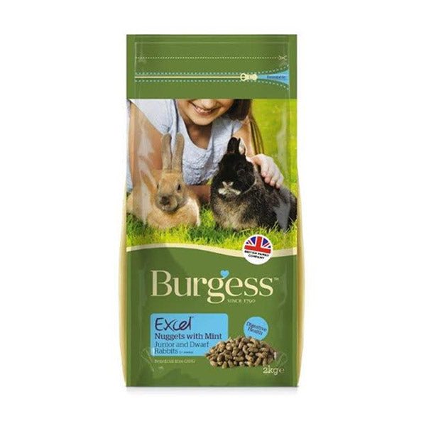 Excel Nuggets for Juniour & Dwarf Rabbits (2kg)