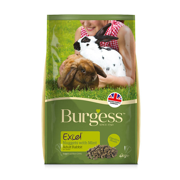 Excel Nuggets for Rabbits (2kg)