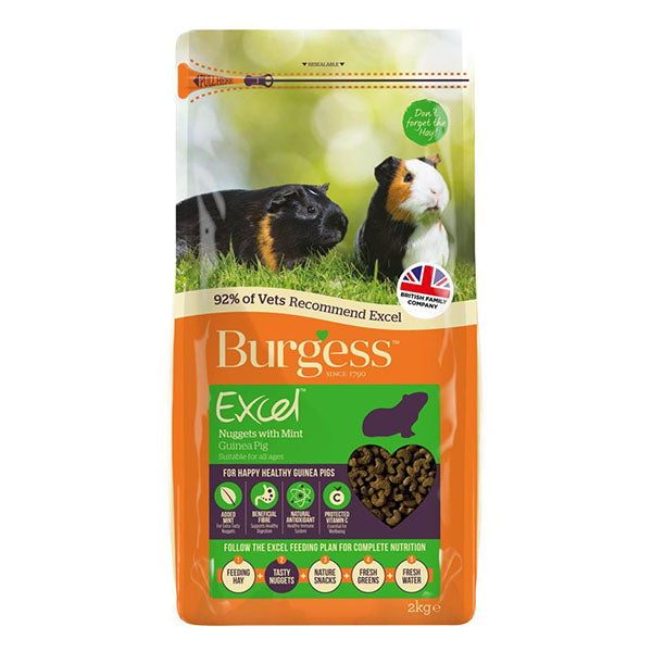 Excel Nuggets for Guinea Pigs (2kg)