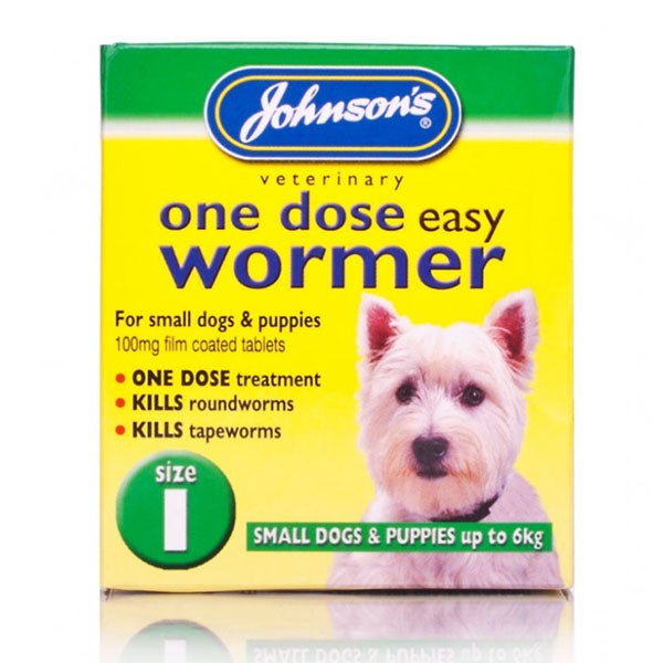 Johnson - One Dose Easy Wormer (Up to 6kg)