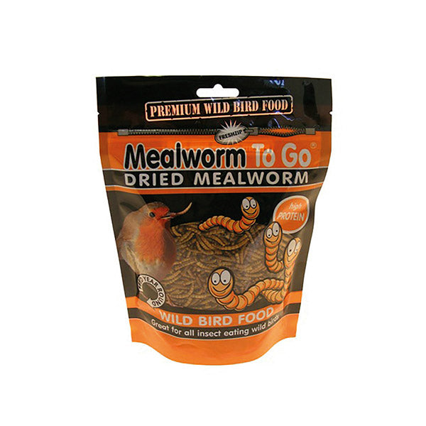 Mealworms - Dried (100g)