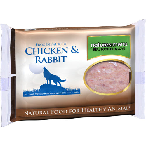 Natures Menu Chicken and Rabbit