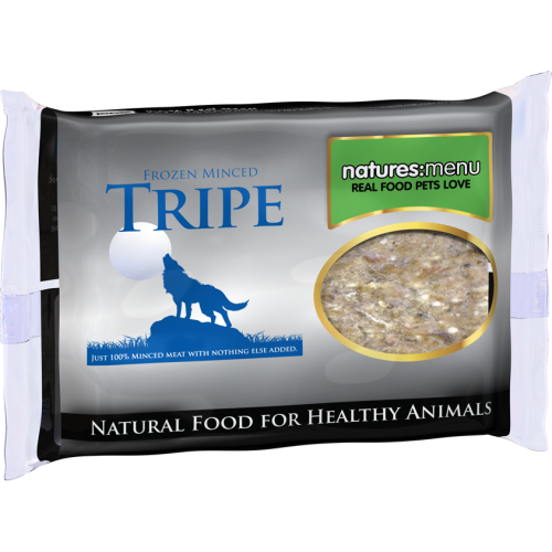 Natures Menu Tripe Frozen Food