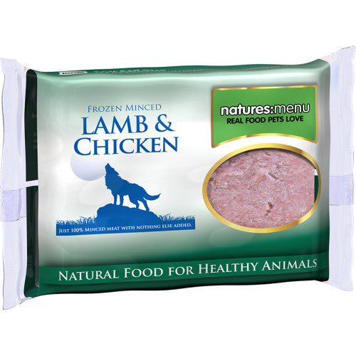Natures Menu Lamb and Chicken