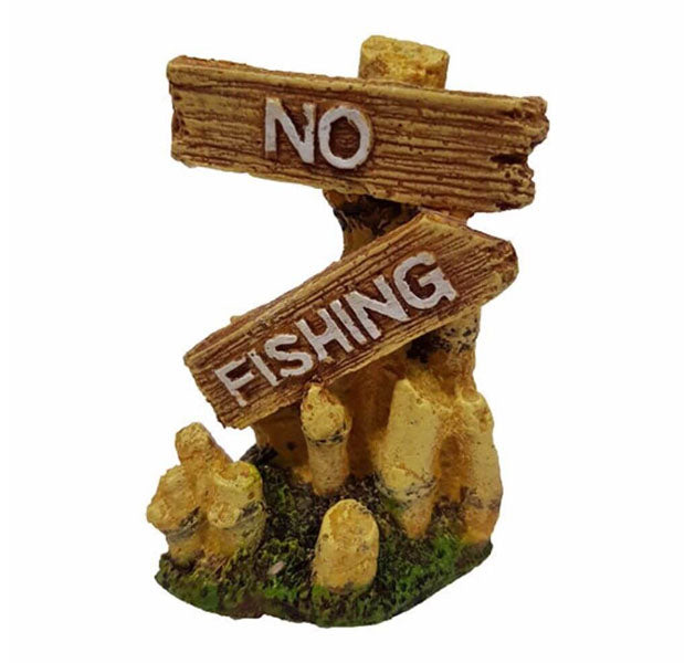 No Fishing Ornament