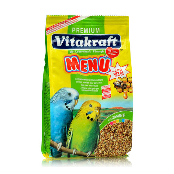 Premium Fortified Budgie Food