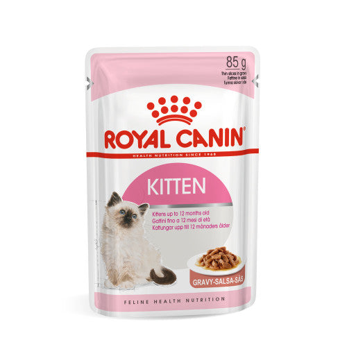 Royal Canin Health Nutrition Kitten Instinctive in Gravy
