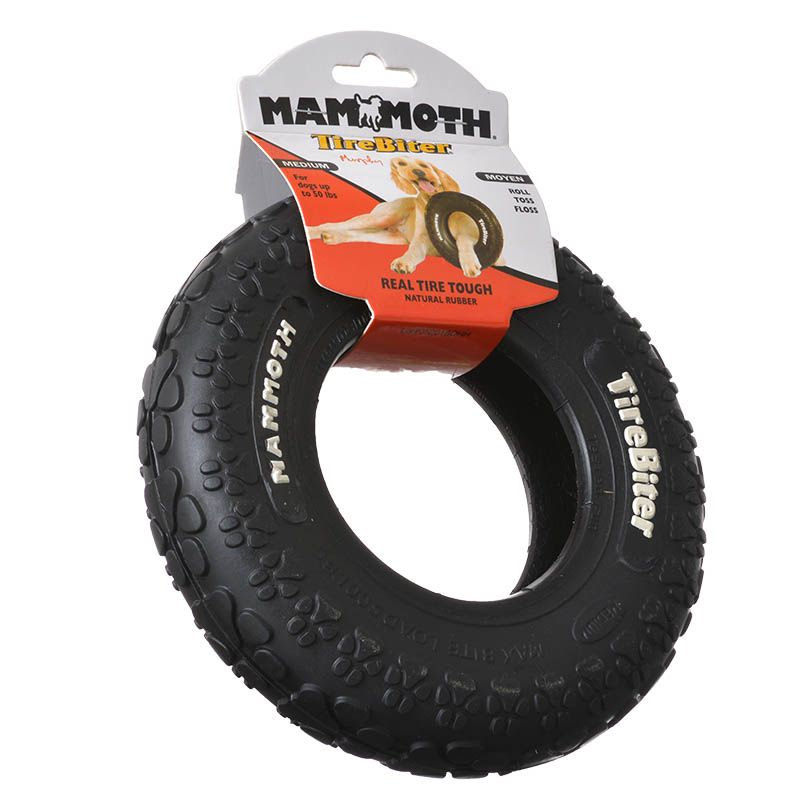Rubber Tyre Dog Chew