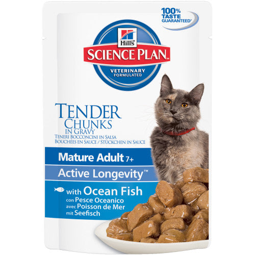 Science Plan Mature Fish Pouch