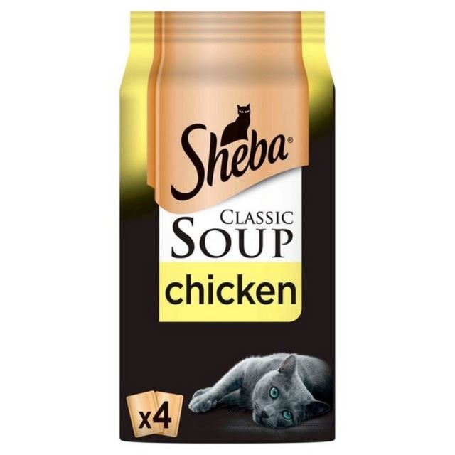 Sheba Soup Pouch With Chicken