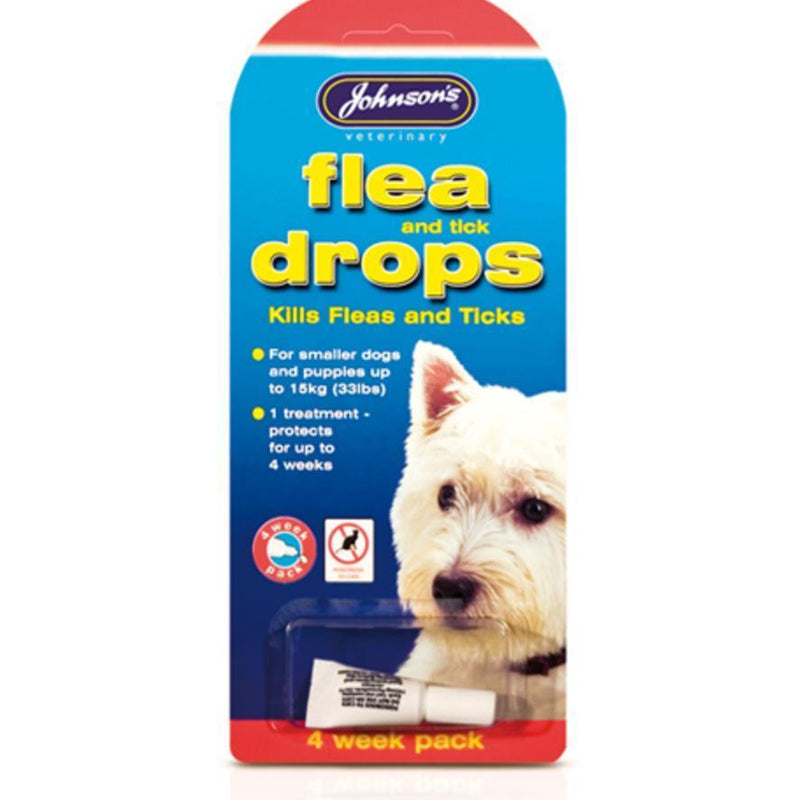 Small Dog Flea & Tick Drops (4 week)