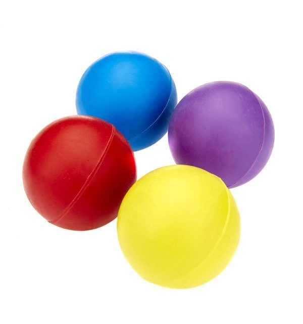 Classic Solid Rubber Ball (Assorted Colours)