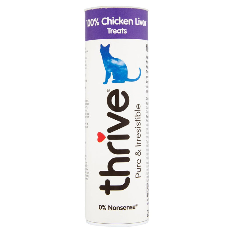 Thrive 100% Chicken Liver Cat Treats