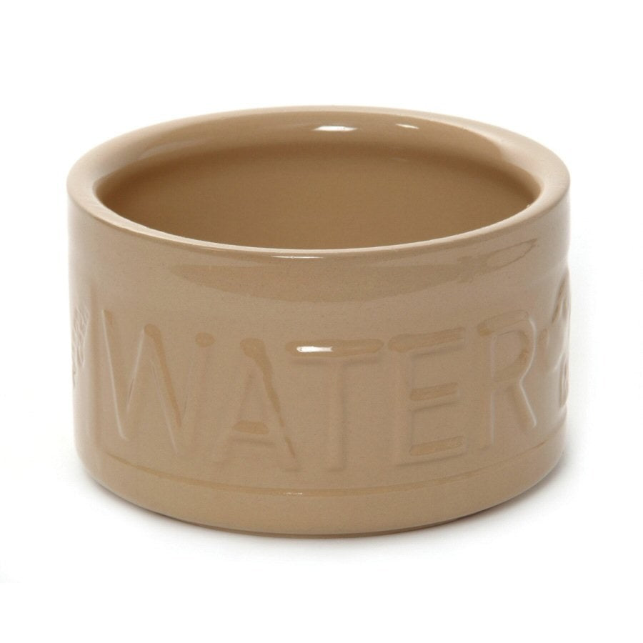 Lettered High Sided Water Bowl