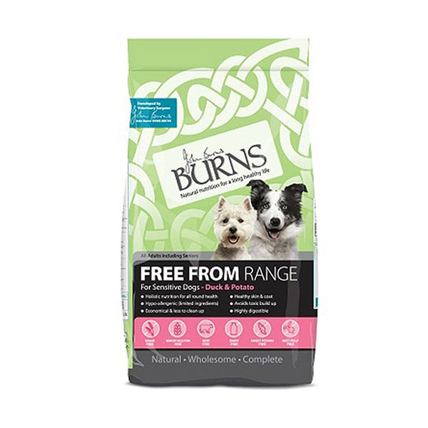 Burns Duck Adult & Senior Sensitive Grain Free (2kg)