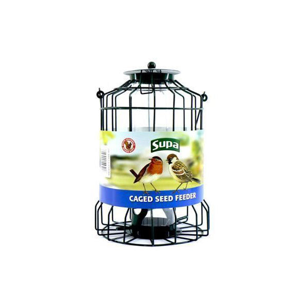 Supa Caged Seed Feeder (25cm)
