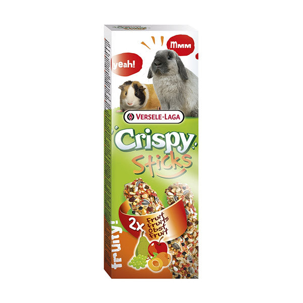 Crispy Fruit Sticks for Guinea Pigs & Rabbits