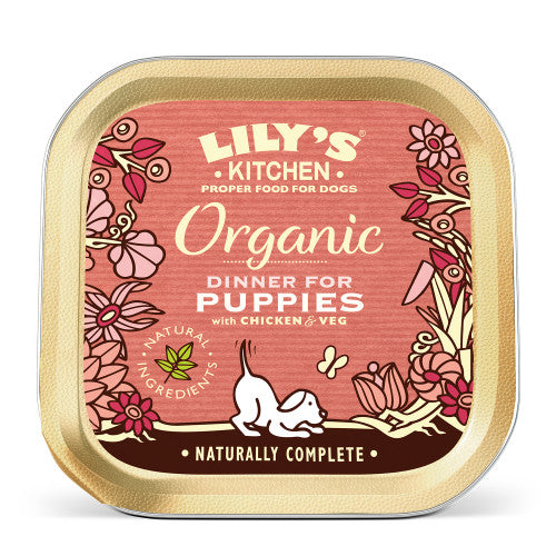 Lilys Puppy Chicken Dinner 150g