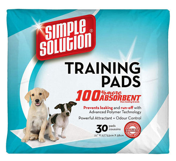 Simple Solution Puppy Training Pads 30 pack