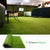 Forest Grass 6.5 FT X 10 FT Artificial Carpet Fake Grass Synthetic Thick Lawn Pet Turf for Dogs