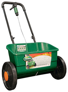 Scotts Turf Builder Classic Drop Spreader, (Up to 10,000-sq ft) - Forest Grass