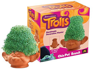 Pet Trolls Branch, Decorative Pottery Planter, Easy to Do and Fun to Grow, Novelty Gift, Perfect for Any Occasion