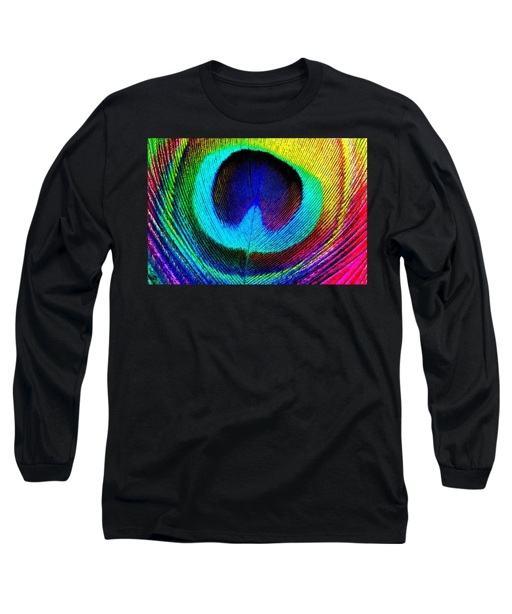 Almost Peacock - Long Sleeve T-Shirt