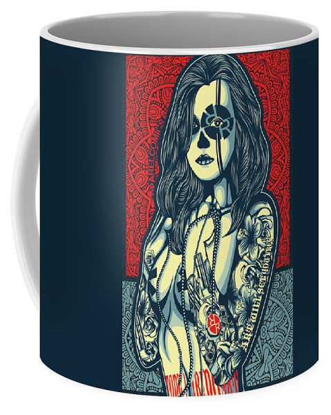 Rubino Cat Woman - Mug