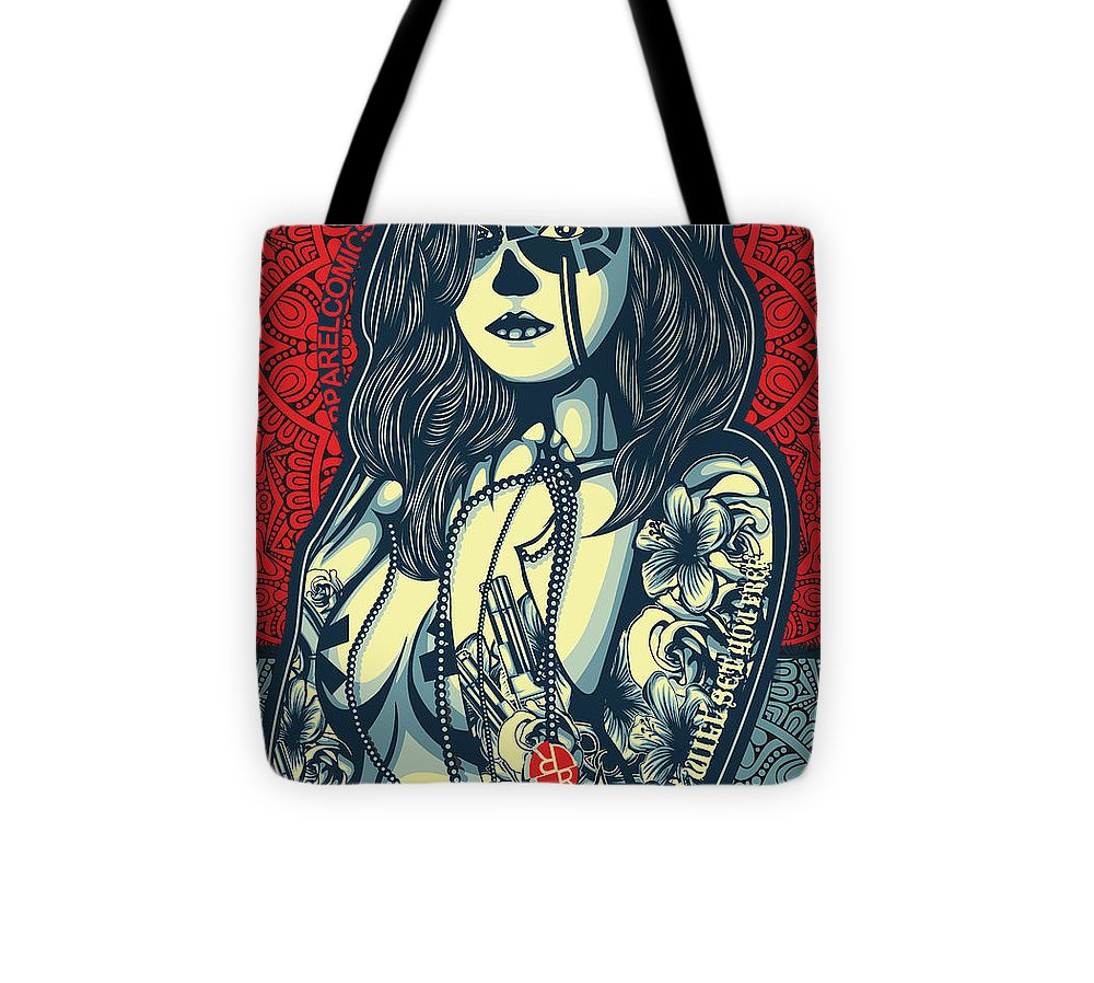 Rubino Cat Woman - Tote Bag