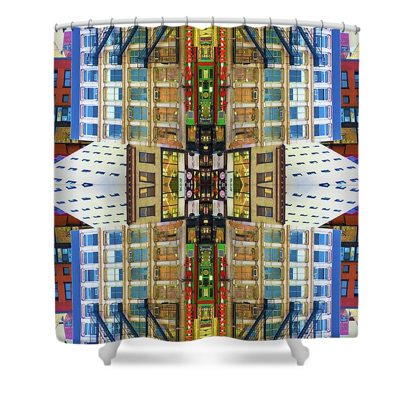 18th And 7th - Shower Curtain