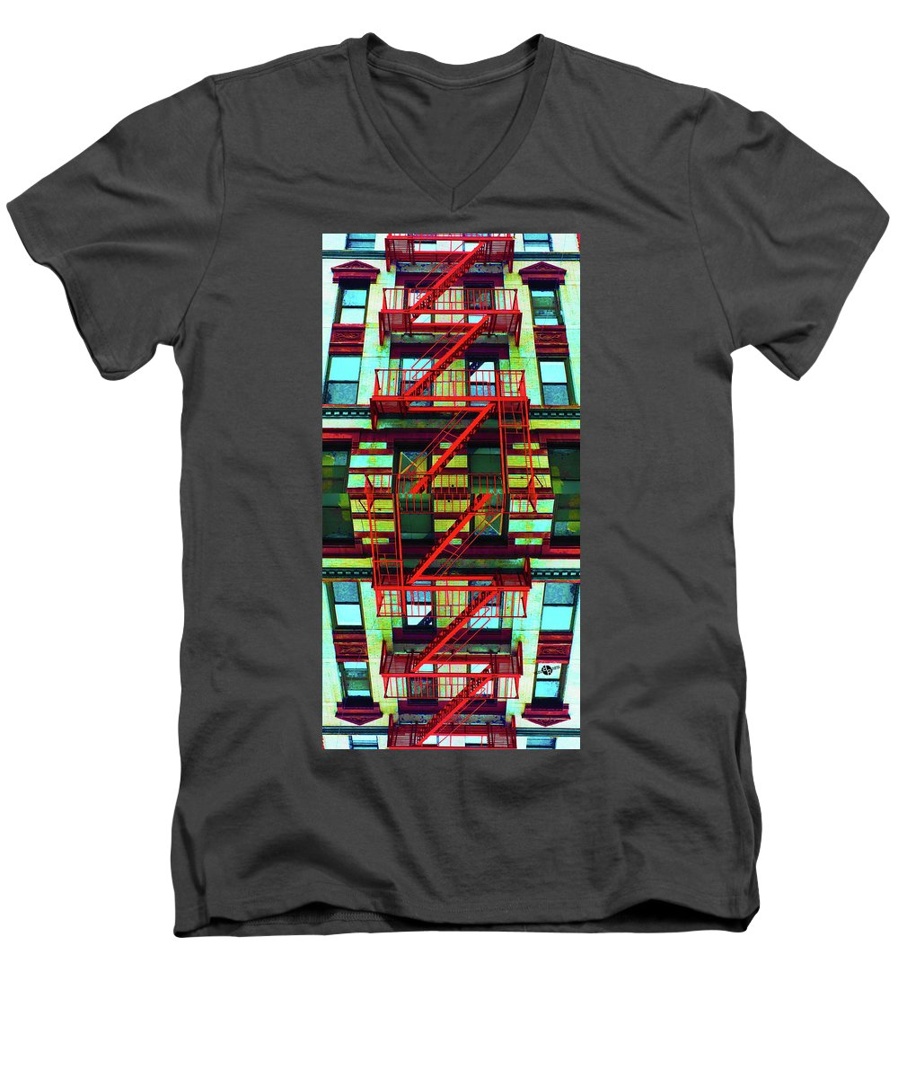 28th And 7th - Men's V-Neck T-Shirt