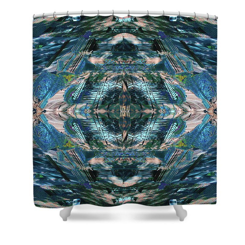 88th And Riverside - Shower Curtain