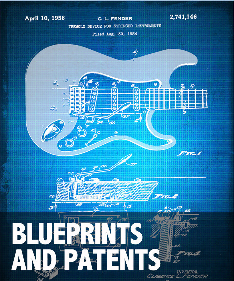 Blueprints and Patents