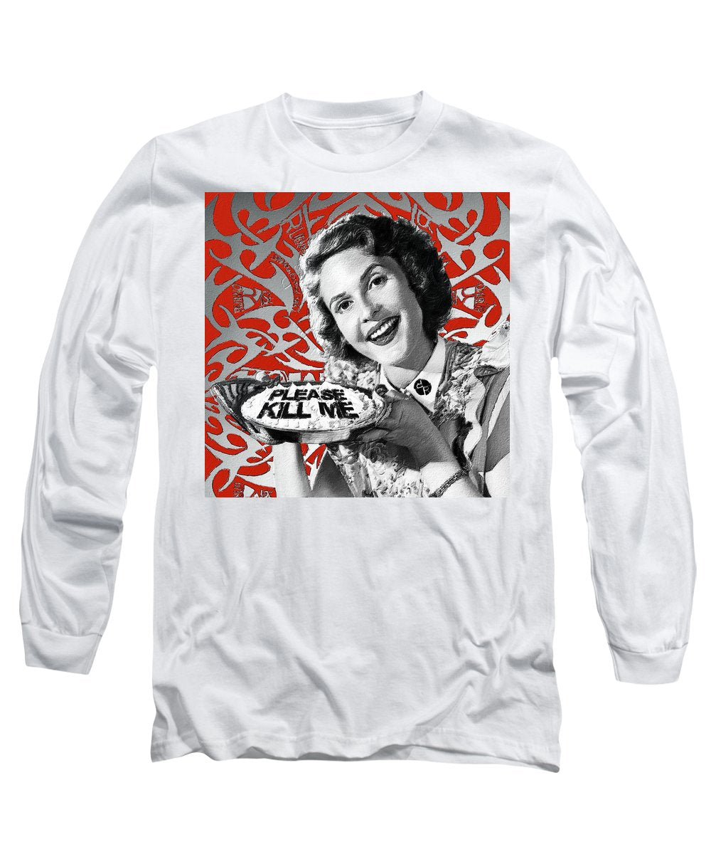 A Housewife Bakes - Long Sleeve T-Shirt