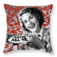 A Housewife Bakes - Throw Pillow