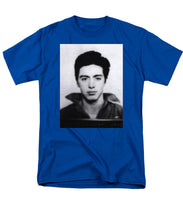 Al Pacino Mug Shot 1961 Black And Blueish  - Men's T-Shirt  (Regular Fit)