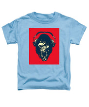 Ape Loves Music With Headphones - Toddler T-Shirt
