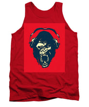 Ape Loves Music With Headphones - Tank Top