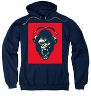 Ape Loves Music With Headphones - Sweatshirt