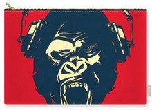 Ape Loves Music With Headphones - Carry-All Pouch