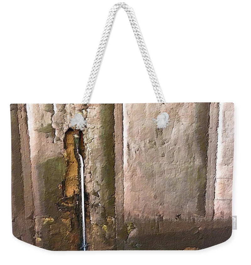 Approaching The Station - Weekender Tote Bag