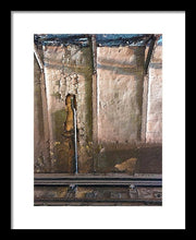 Approaching The Station - Framed Print