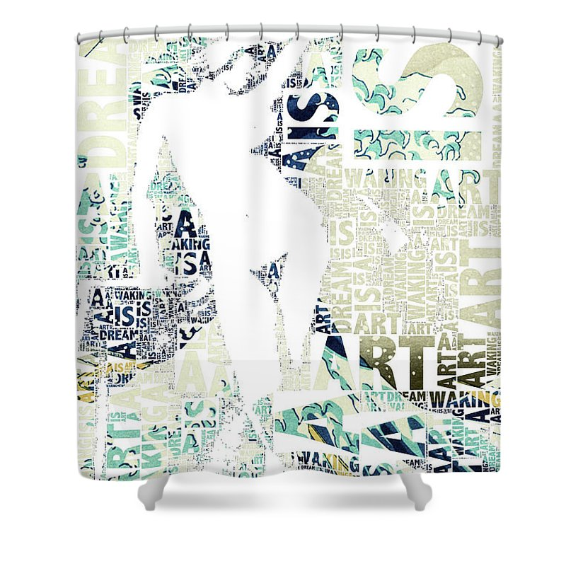 Art Is - Shower Curtain