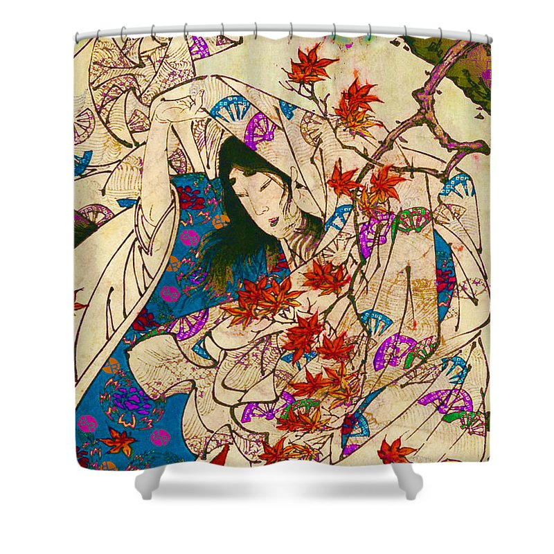 Asian Wind - Shower Curtain