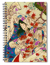 Asian Wind - Spiral Notebook