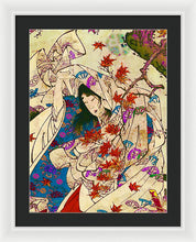 Asian Wind - Framed Print