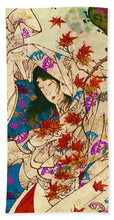 Asian Wind - Beach Towel