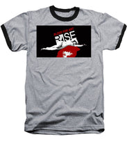 Rise Bleed For Art - Baseball T-Shirt